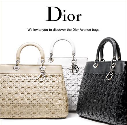 Dior Avenue Bags