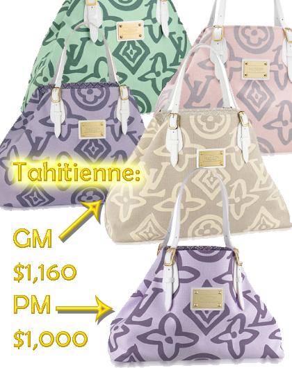 Louis Vuitton Tahitienne Bag
