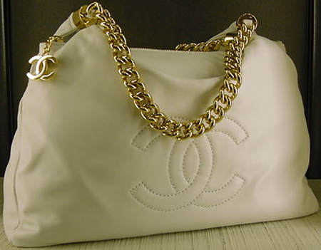 Chanel Rodeo Drive Hobo in White
