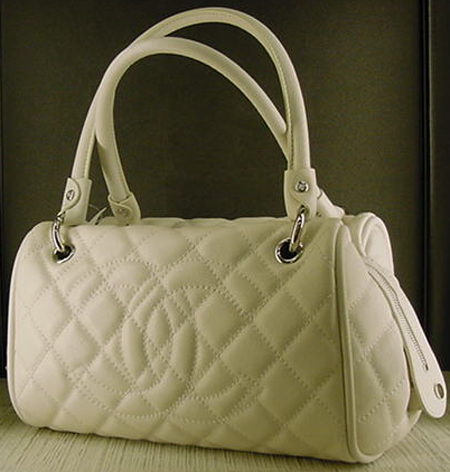 Chanel Timeless CC Satchel in White