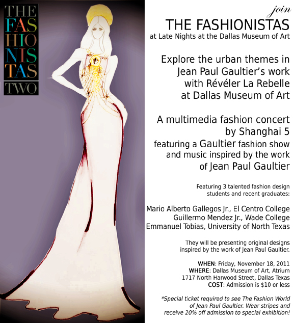 Events Reveler La Rebelle At Dallas Museum Of Art My Fashion Juice