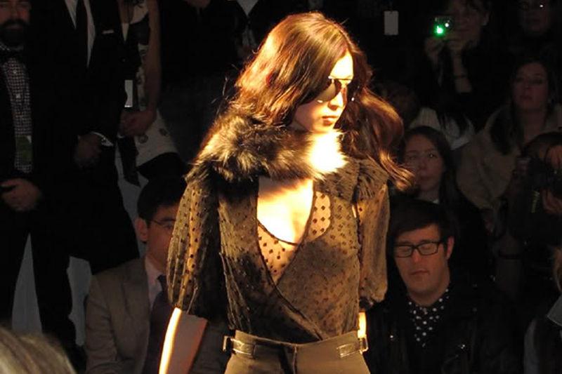 Tracy Reese FW2011, new york fashion week, nephew