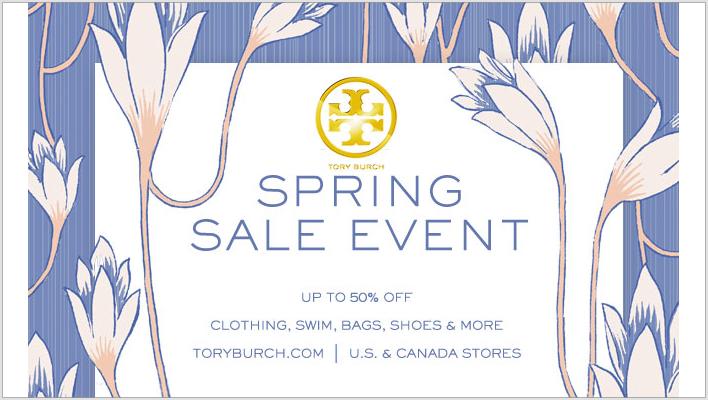 Tory Burch Spring Sale
