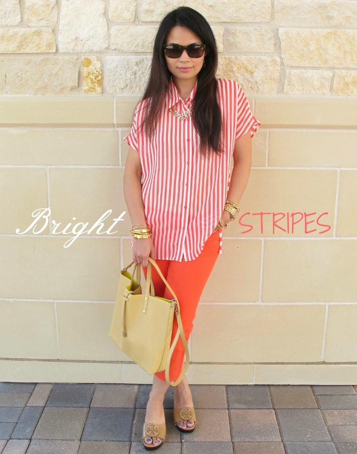Bright Stripes Outfit