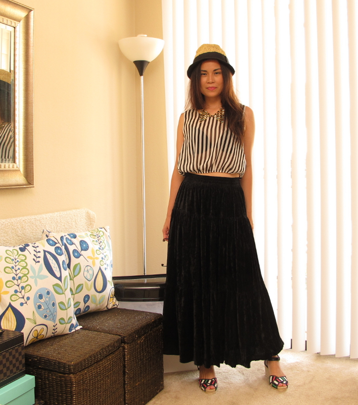 Maxi Stripes Outfit