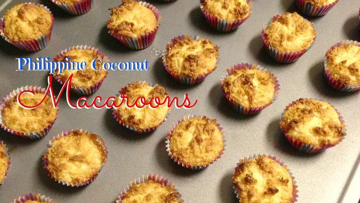Philippine Coconut Macaroons