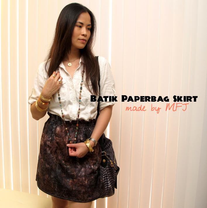 Batik Skirt I Made