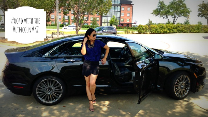 OOTD, 2013 Lincoln MKZ, Outfit of the day, Pose