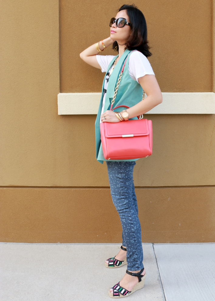 Casual Mint and Coral Crush, Current Elliot