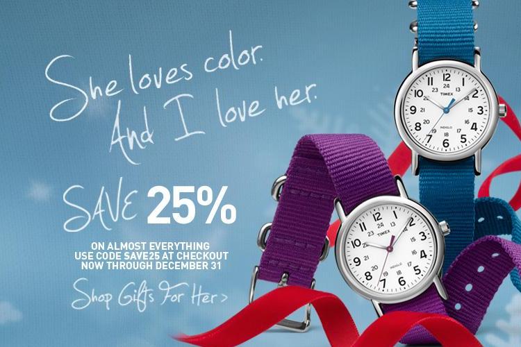 Timex Holidays