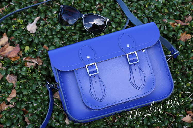 Blue Outfit, OOTD, Cambridge Satchel Company, Spring, Dazzling Blue