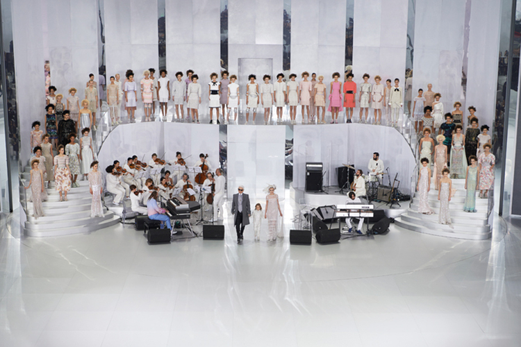 Chanel Spring Summer 2014 Fashion Show, Haute Couture, Grand Palais, Paris