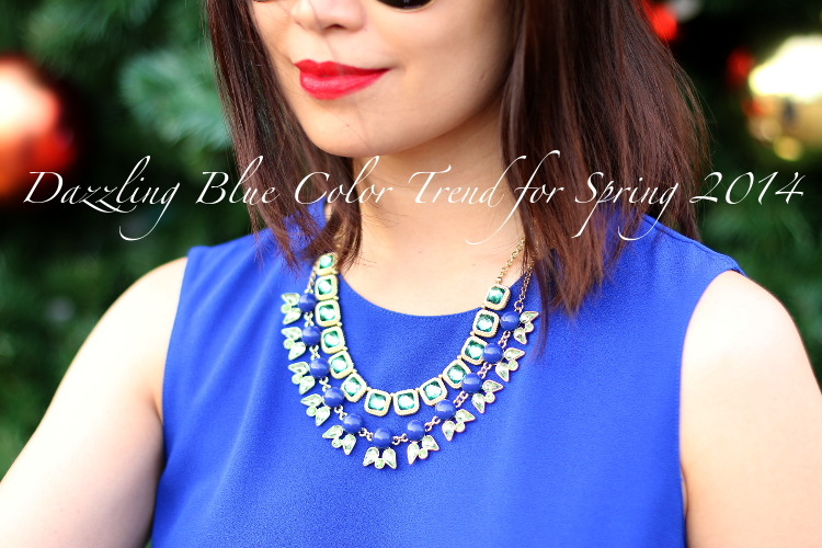 Dazzling Blue and White, Color Trend, Spring 2014, #OOTD, fashion, style