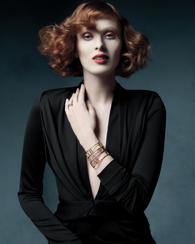 Tiffany & Co. Atlas Jewelry Collection, Karen Elson