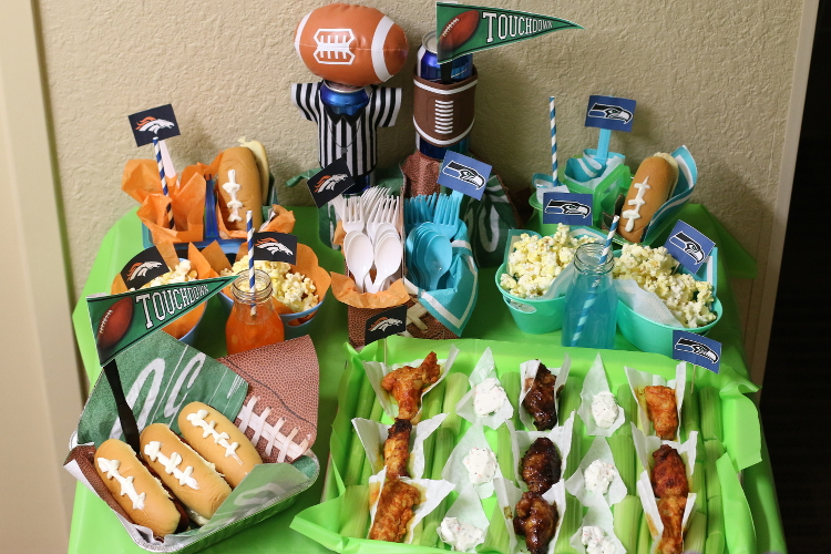 Superbowl Food, Table Setting, Entertainment, Party, DIY, Home