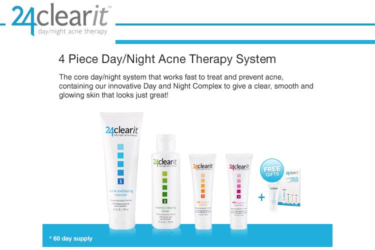 24Clearit, acne care, skin care