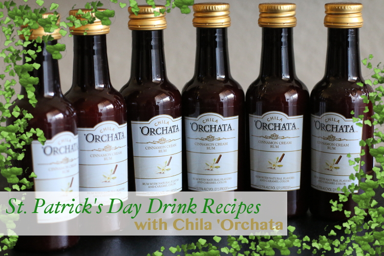 Chila Orchata, Cinnamon Cream Rum, Drinks, St. Patrick's Day, St. Paddy's Day