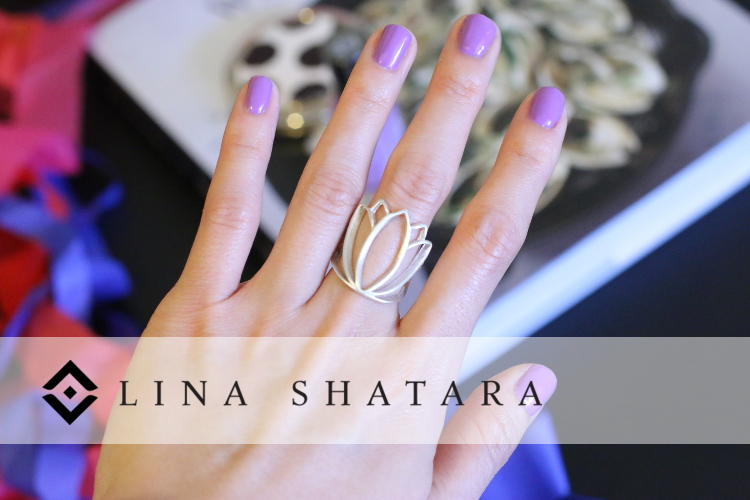 Lina Shatara, Jewelry, Jewels, Accessories, ring, Tara ring, silver