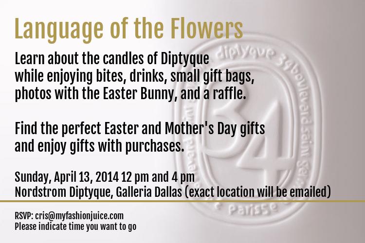 Diptyque, Nordstrom, events, Galleria Dallas, north texas, dallas, dfw, candles