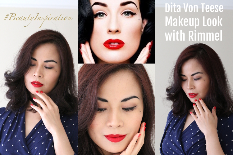 Rimmel, #beautyinspiration, makeup tutorial, beauty, #cbias, #collectivebias, #shop, get the look, retro, glam, old hollywood glamour