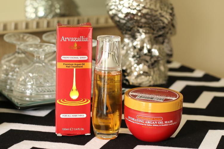 Arvazallia, Argan Oil, Hair treatment, hair care, beauty brand, cosmetics, hydrating argan oil mask