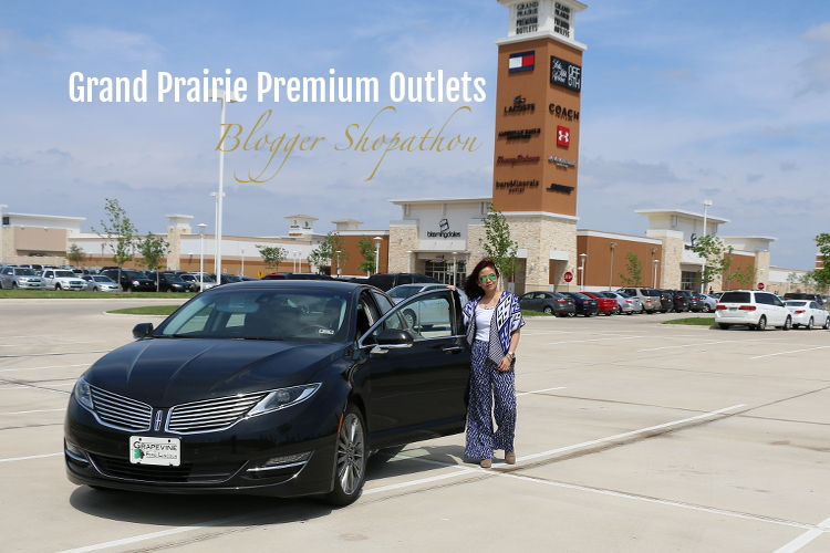 Lincoln MKZ, Grapevine Lincoln, Grand Prairie Premium Outlets, Blogger Shopathon, ride, car