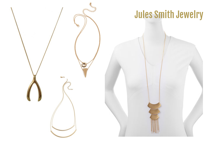 Jules Smith, jewelry, gold, necklace