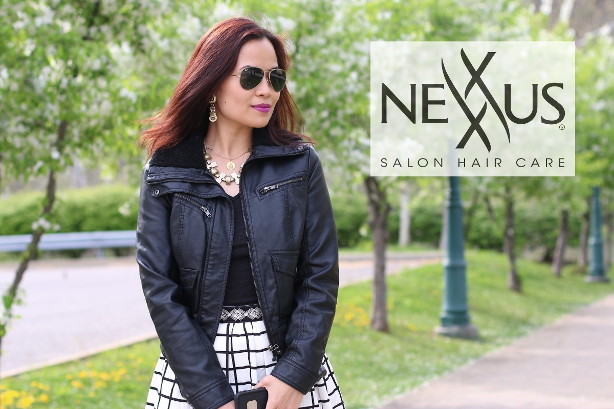 Nexxus Salon Hair Care, review, beauty, hair, blogger, my fashion juice