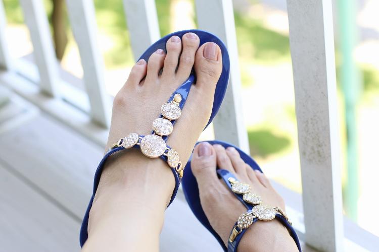 Fibi & Clo, Riviera sandals, summer flats, flip flops, flat sandals, Fibi and Clo New York