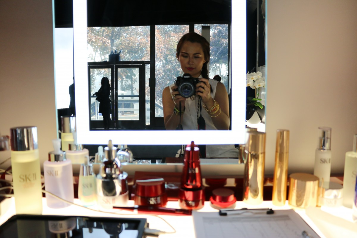 New York Fashion Week, Mercedes Benz Fashion Week, Inside Lincoln Center, #NYFW, #MBFW, SK-II booth