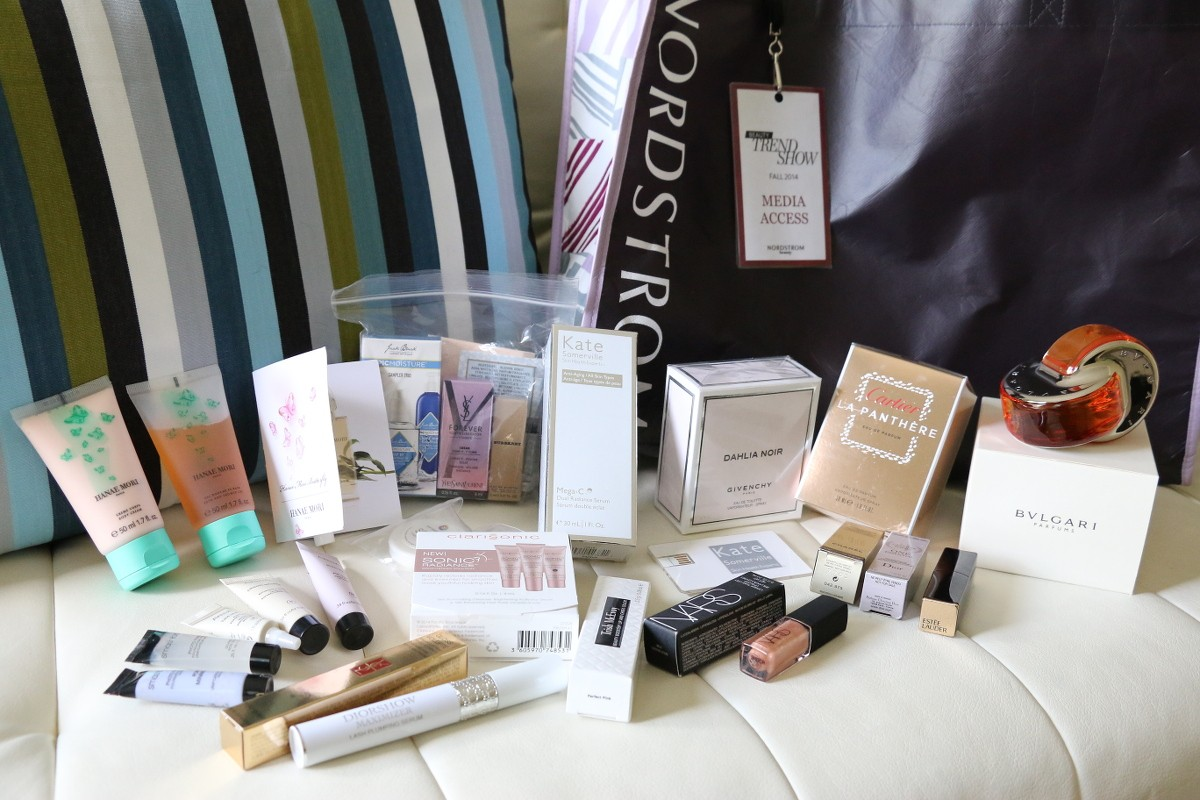 Nordstrom, beauty trend show, makeup, cosmetics, fall 2014 trends