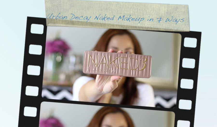 Urban Decay Naked 3 Palette, Makeup tutorial, 7 ways to use the palette, beauty