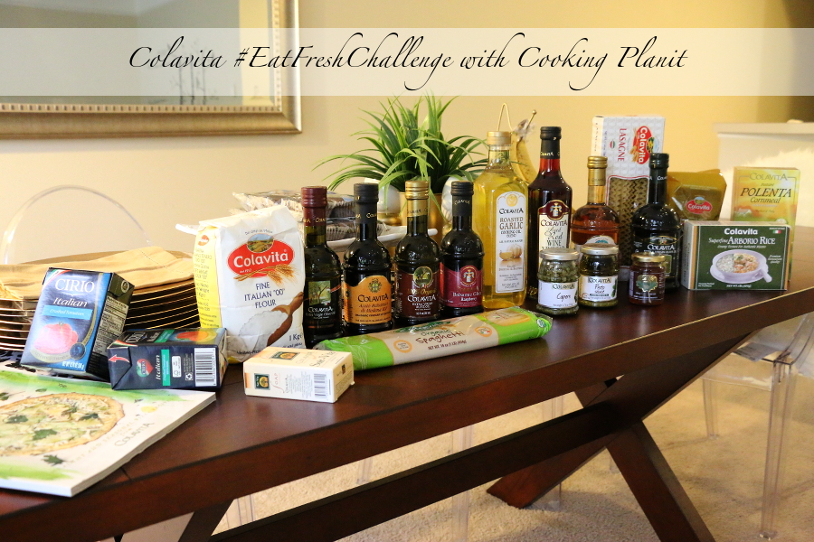 Cooking Planit, Colavita, #EatFreshChallenge, meal planning, cooking, dinner, menu planning