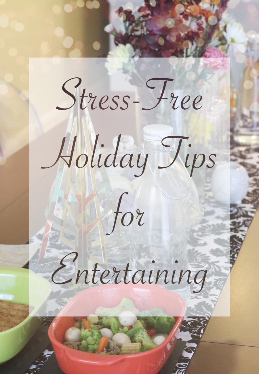 Stress-Free Holiday tips, entertaining, Sams Club, shop, #cbias, Collective Bias, De-stressing Holidays, home
