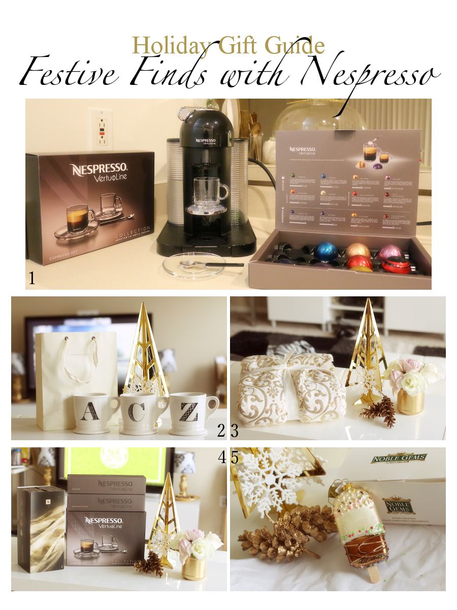 Nespresso, coffee, #FestiveFinds, Holidays, Holiday gift guide, Christmas shopping, VertuoLine coffee system
