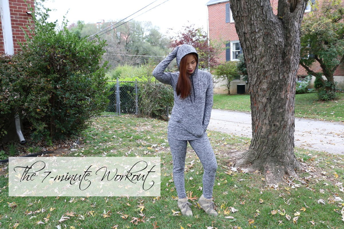 7 minute workout, health, fitness, regimen, activewear, fitness wear, outdoor voices