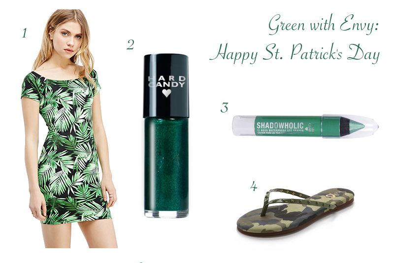 Green Stylish Picks for St. Patrick's Day