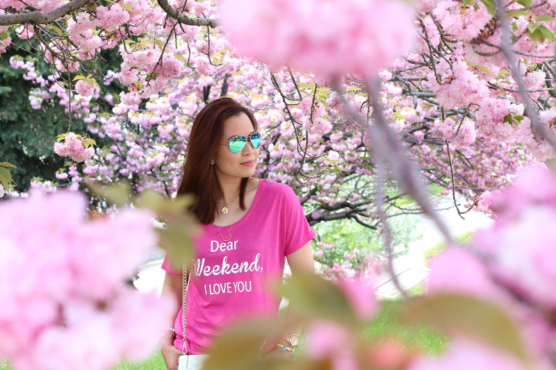 weekend tee, outfit, fashion, style, katydid collection