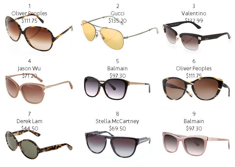 designer sunglasses, sale