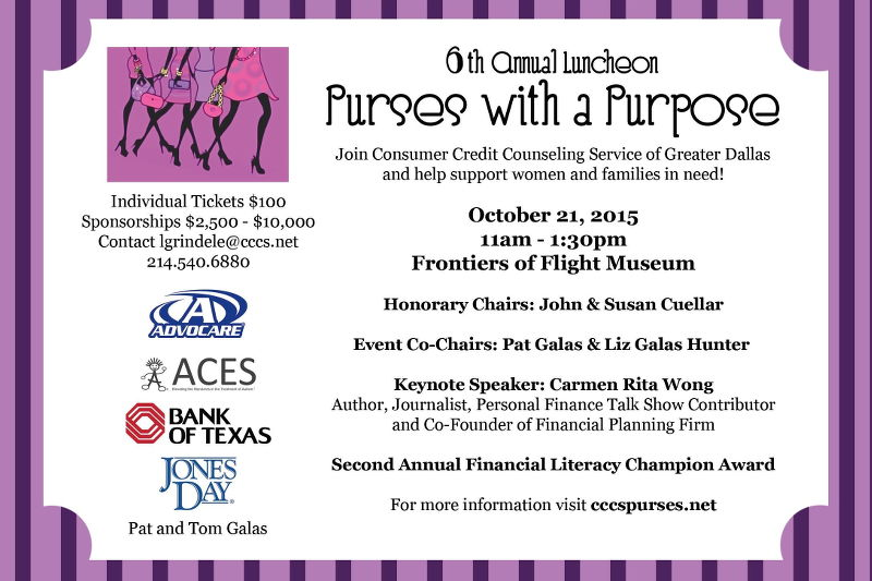 Purses with a Purpose Luncheon, events, Dallas
