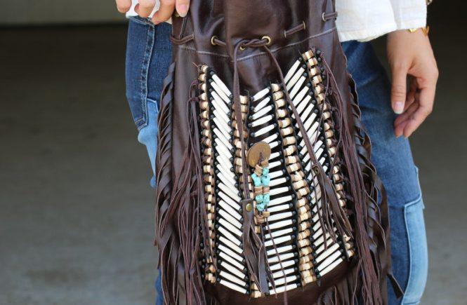 Boho bags, fringe bag, bohemian style