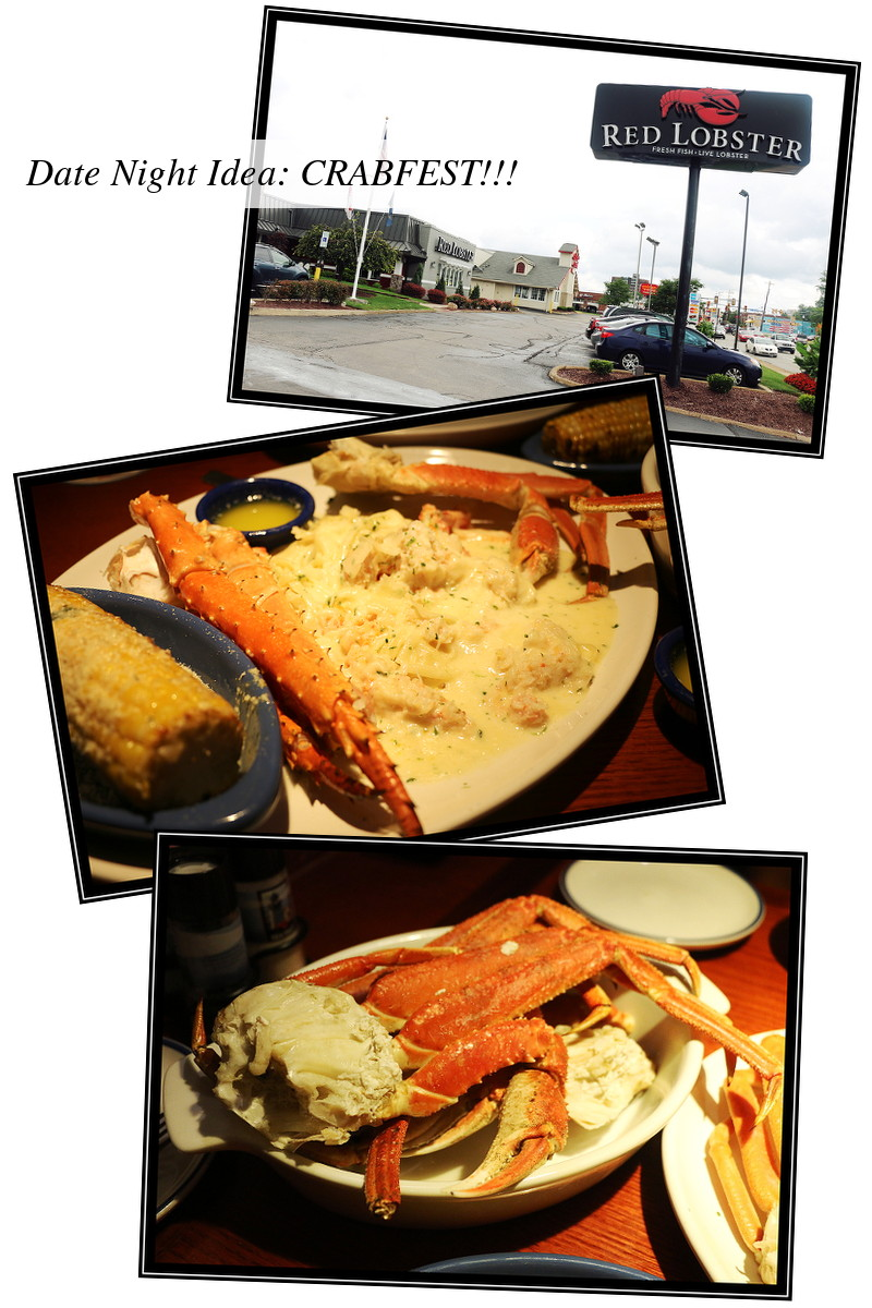 Red Lobster Crabfest Date Night