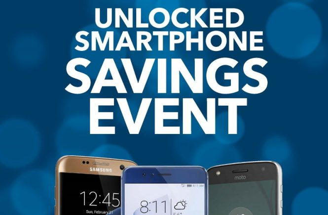 Unlocked Smartphone Savings Event, BestBuy
