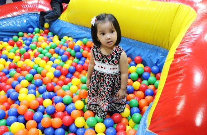 Kids Birthday Party, ball pit, play area