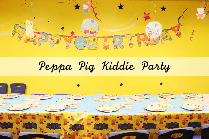 Peppa Pig Kiddie Party, entertaining, hosting, party supplies, party decorations