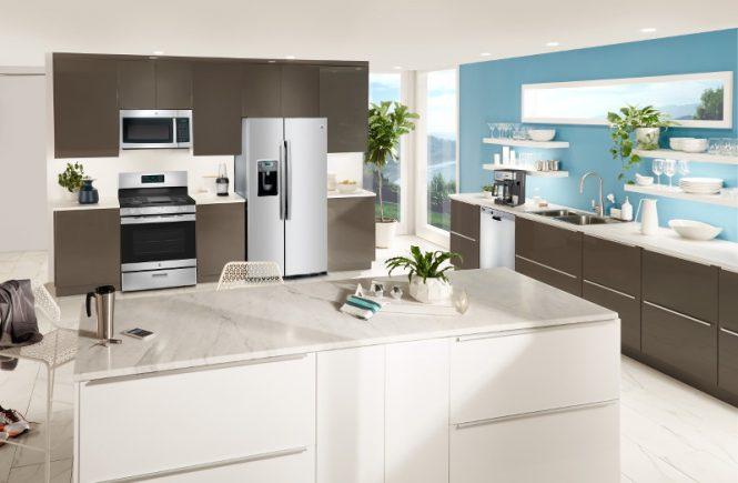 GE Appliances, Contemporary Kitchen, dream kitchen, Best Buy