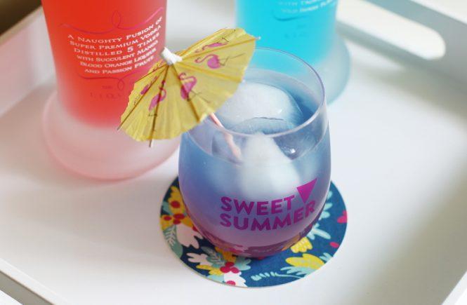 Sweet Summer Ombre Cocktail Drink, cocktails