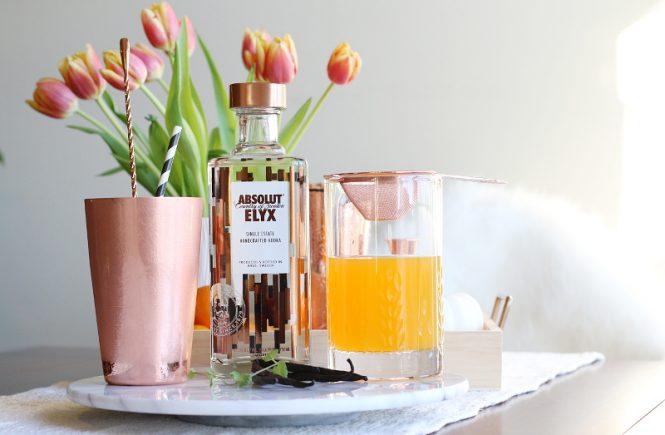 Absolut Elyx Vodka Copper Cup #16 Cocktail Recipe